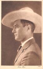 act013385 - Tom Mix Movie Star Actor Actress Film Star Postcard, Old Vintage Antique Post Card