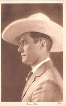 act013387 - Tom Mix Movie Star Actor Actress Film Star Postcard, Old Vintage Antique Post Card
