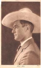 act013388 - Tom Mix Movie Star Actor Actress Film Star Postcard, Old Vintage Antique Post Card
