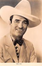 act013389 - Tom Mix Movie Star Actor Actress Film Star Postcard, Old Vintage Antique Post Card