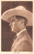 act013390 - Tom Mix Movie Star Actor Actress Film Star Postcard, Old Vintage Antique Post Card