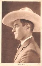 act013391 - Tom Mix Movie Star Actor Actress Film Star Postcard, Old Vintage Antique Post Card