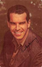 act013394 - Fred MacMurray Movie Star Actor Actress Film Star Postcard, Old Vintage Antique Post Card