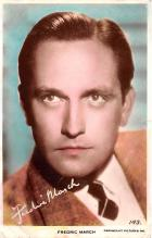 act013402 - Fredric March Movie Star Actor Actress Film Star Postcard, Old Vintage Antique Post Card