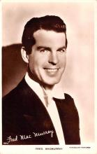 act013411 - Fred MacMurray Movie Star Actor Actress Film Star Postcard, Old Vintage Antique Post Card