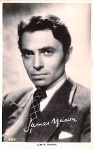 act013416 - James Mason Movie Star Actor Actress Film Star Postcard, Old Vintage Antique Post Card