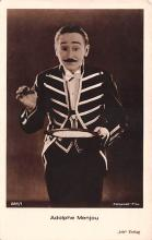 act013429 - Adolphe Menjou Movie Star Actor Actress Film Star Postcard, Old Vintage Antique Post Card