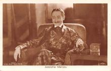 act013434 - Adolphe Menjou Movie Star Actor Actress Film Star Postcard, Old Vintage Antique Post Card