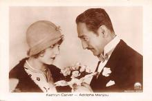act013436 - Kathryn Carver and Adolphe Menjou Movie Star Actor Actress Film Star Postcard, Old Vintage Antique Post Card