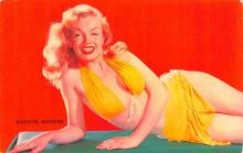 act013449 - Marilyn Monroe Movie Star Actor Actress Film Star Postcard, Old Vintage Antique Post Card
