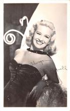 act013450 - Marilyn Maywell Movie Star Actor Actress Film Star Postcard, Old Vintage Antique Post Card