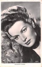 act013458 - Maureen O'Hara Movie Star Actor Actress Film Star Postcard, Old Vintage Antique Post Card
