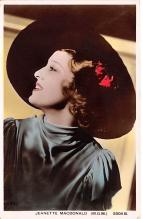 act013459 - Jeanette MacDonald, MGM Movie Star Actor Actress Film Star Postcard, Old Vintage Antique Post Card
