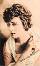 act013471 - Katherine McDonald Movie Star Actor Actress Film Star Postcard, Old Vintage Antique Post Card