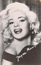 act013475 - Jayne Mansfield Movie Star Actor Actress Film Star Postcard, Old Vintage Antique Post Card