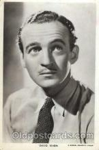 act014019 - David Niven Actor, Actress, Movie Star, Postcard Post Card