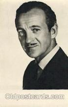 act014022 - David Niven Actor, Actress, Movie Star, Postcard Post Card
