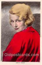 act014025 - Greta Nissen Movie Actor / Actress, Entertainment Postcard Post Card