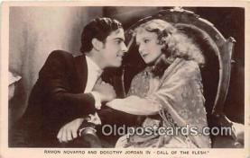 act014027 - Ramon Novarro Movie Actor / Actress, Entertainment Postcard Post Card