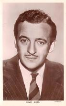 act014047 - David Niven Movie Star Actor Actress Film Star Postcard, Old Vintage Antique Post Card