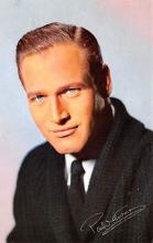 act014048 - Paul Newman Movie Star Actor Actress Film Star Postcard, Old Vintage Antique Post Card