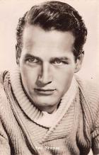 act014049 - Paul Newman Movie Star Actor Actress Film Star Postcard, Old Vintage Antique Post Card
