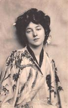 act014066 - Evelyn Nesbit, The Mikado's Bride Movie Star Actor Actress Film Star Postcard, Old Vintage Antique Post Card