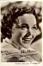 act015004 - Maureen O'Sullivan Actress / Actor Postcard Post Card Old Vintage Antique