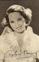 act015010 - Merle Oberon Postcard Post Card Actress / Actor Postcard Post Card Old Vintage Antique
