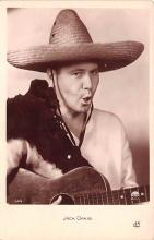 act015042 - Jack Oakie Movie Star Actor Actress Film Star Postcard, Old Vintage Antique Post Card