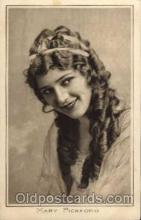 act016002 - Mary Pickford Actress / Actor Postcard Post Card Old Vintage Antique