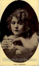 act016020 - Mary Pickford Actress / Actor Postcard Post Card Old Vintage Antique