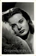 act016025 - Jean Peters Actress / Actor Postcard Post Card Old Vintage Antique