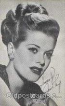 act016031 - Janis Paige Actress / Actor Postcard Post Card Old Vintage Antique