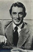 act016059 - Gregory Peck Actor, Actress, Movie Star, Postcard Post Card