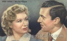 act016061 - Walter Pidgeon & Greer Garson Trade Card Actor, Actress, Movie Star, Postcard Post Card
