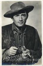 act016062 - Gregory Peck Actor, Actress, Movie Star, Postcard Post Card