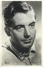 act016063 - John Payne Actor, Actress, Movie Star, Postcard Post Card