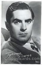 act016067 - Tyrone Power Actor, Actress, Movie Star, Postcard Post Card