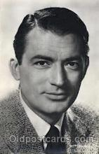 act016070 - Gregory Peck Actor, Actress, Movie Star, Postcard Post Card