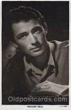 act016075 - Gregory Peck Actor, Actress, Movie Star, Postcard Post Card