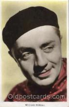 act016076 - William Powell Actor, Actress, Movie Star, Postcard Post Card