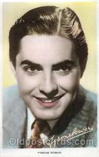 act016078 - Tyrone Power Actor, Actress, Movie Star, Postcard Post Card