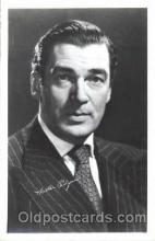 act016081 - Walter Pidgeon Actor, Actress, Movie Star, Postcard Post Card
