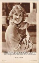 act016093 - Anita Page Movie Actor / Actress, Entertainment Postcard Post Card