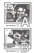 act016100 - Elvis Movie Actor / Actress, Entertainment Postcard Post Card