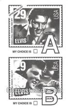 act016102 - Elvis Movie Actor / Actress, Entertainment Postcard Post Card