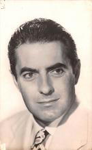 act016122 - Tyrone Power Movie Star Actor Actress Film Star Postcard, Old Vintage Antique Post Card