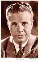 act016126 - Dick Powell Movie Star Actor Actress Film Star Postcard, Old Vintage Antique Post Card