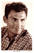act016132 - Jack Palance Movie Star Actor Actress Film Star Postcard, Old Vintage Antique Post Card